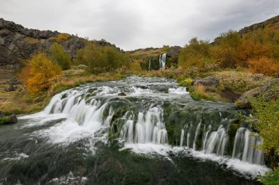 Gjáin valley